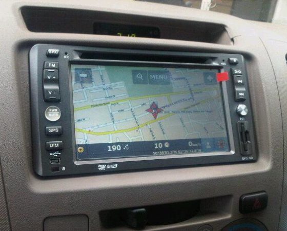 Vehicle GPS Installed